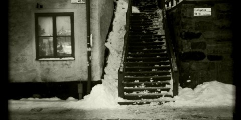 sista styverns trappa