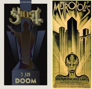 Konsertposter/Metropolis.